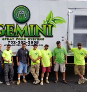 gemini spray foam systems new jersey